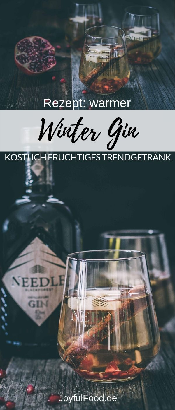 Warmer Winter Gin köstlich fruchtig #bestgincocktails