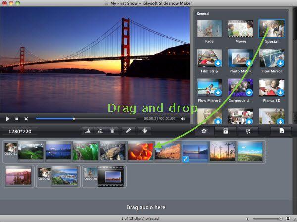 iSkysoft Slideshow Maker for Mac - Make Slideshow Movies that ...