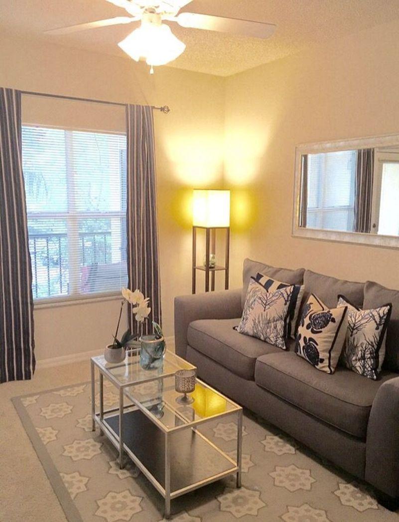 Small Apartment Balcony Garden Ideas: Amazing Apartment Living Room Decorating Ideas 50