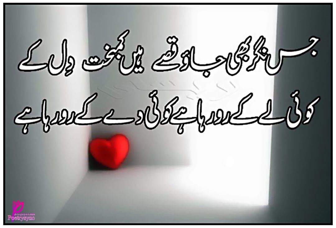 Poetry Best Shayari Sms Images In Urdu Font Language Two Lines