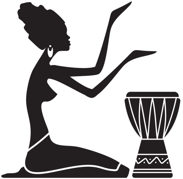 African Women Silhouette Png Clip Art Image African Women Art Africa Art Silhouette Art