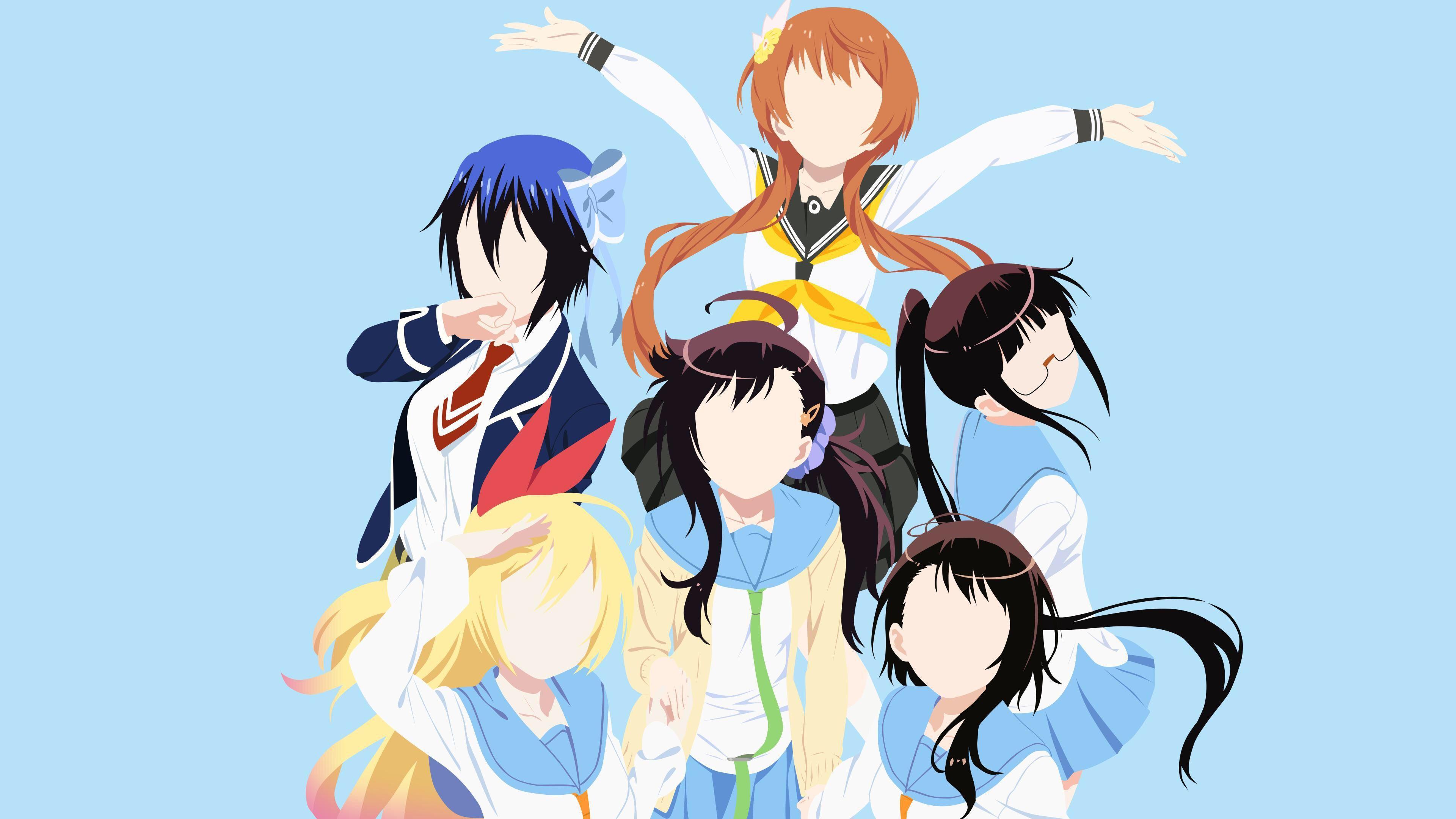 Pin by Me on Animanga Nisekoi, Top anime shows, Anime