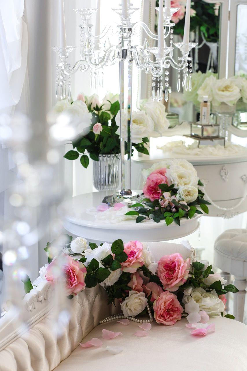 Silk Flower Garland Available For Hire Infoelanakweddings