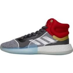 adidas x Marvel Herren Marquee Boost Avengers Pack Thor Basketball Sneakers Grau adidas #marvelavengers