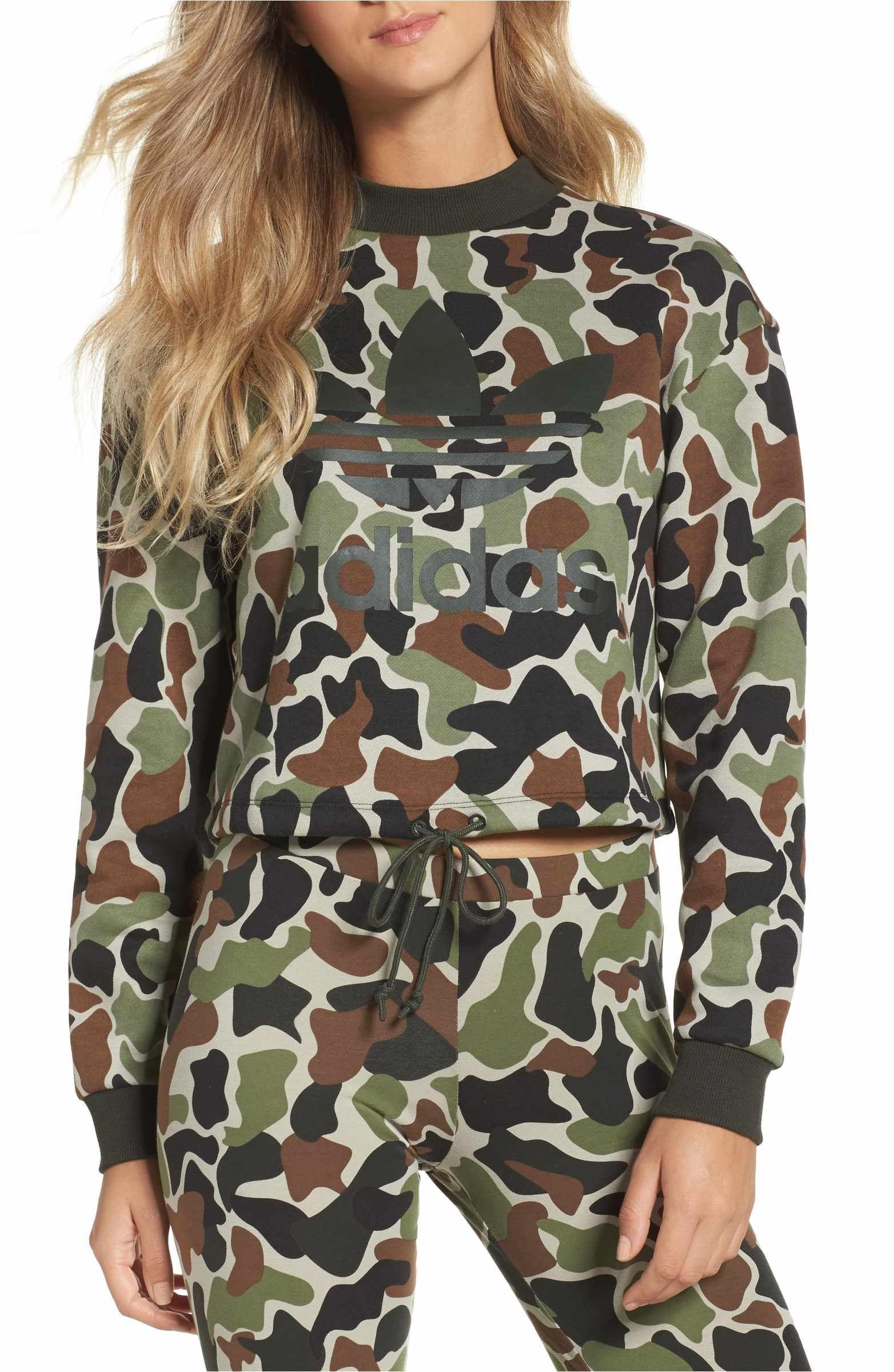 adidas hoodie camouflage