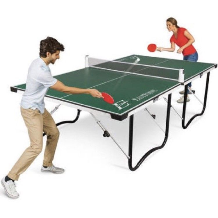Folding Table Tennis Table Fold Up Family Kids Outdoor Ping Pong Indoor Sports Eastpointsport Portable Ping Pong Table Table Tennis Eastpoint