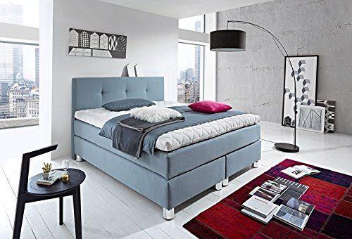 luxus boxspringbett rockstar mit 9cm topper von welcon 180x200 64 farben erh ltlich in h1. Black Bedroom Furniture Sets. Home Design Ideas