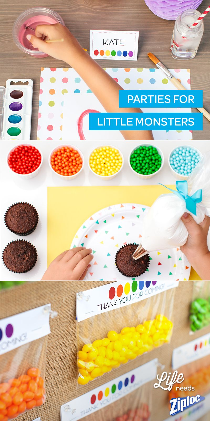 cute, last minute party ideas to throw together quickly for little