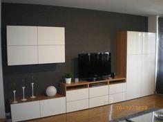 banc tv besta ikea beau mlange bois et blanc - Ikea Meuble Besta Tv