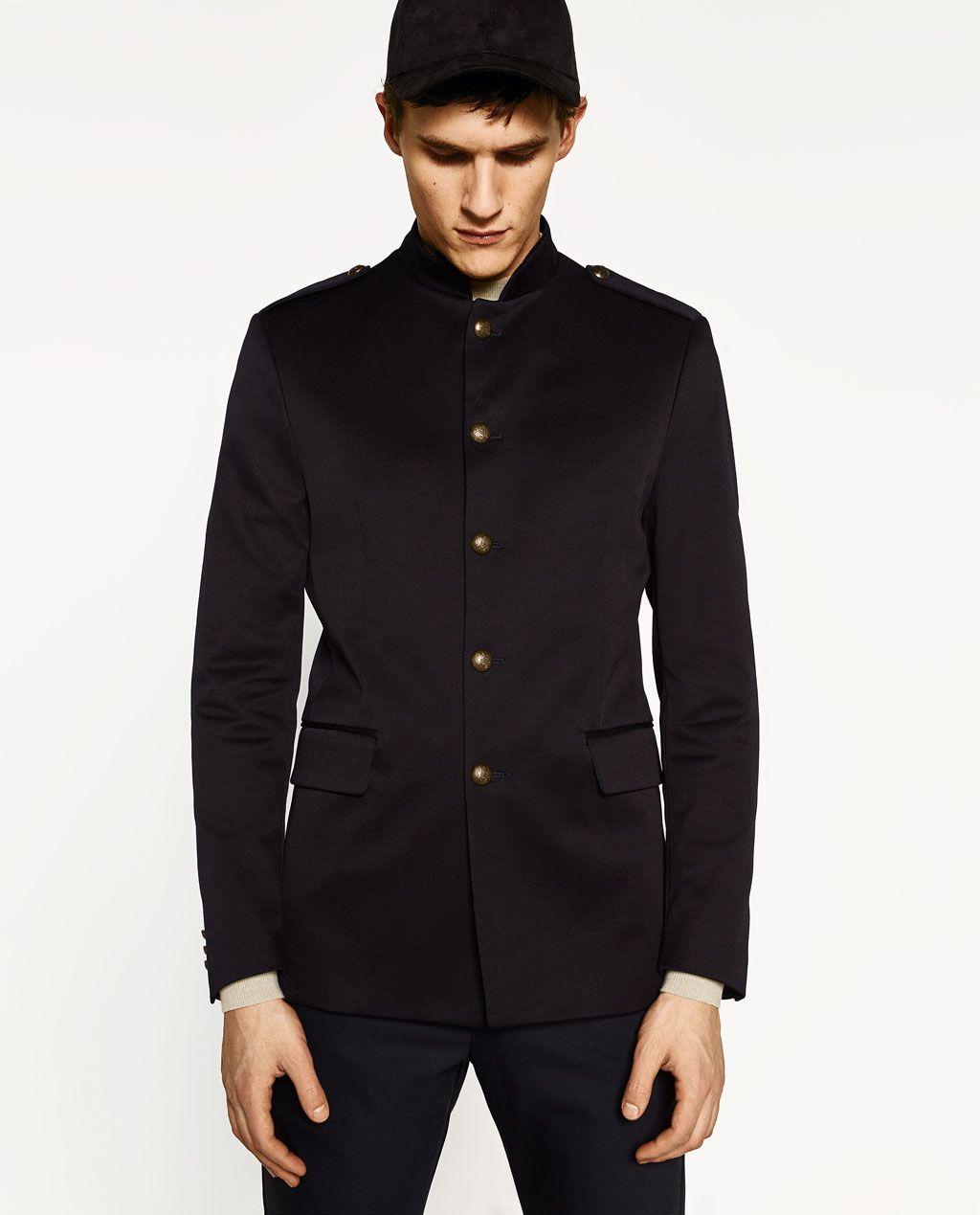 Image 1 Of Military Blazer From Zara In 2020 Blazers For