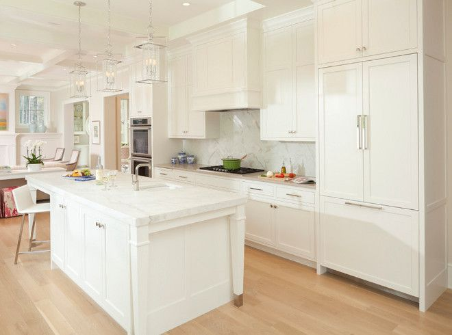 white kitchen - benjamin moore white dove | kitchen inspiration