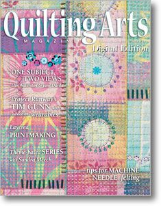 Quilting Arts - has DRM protection