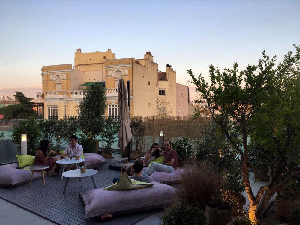 La Cafeteria De La Terraza La Casa Encendida Terrazas Madrid Terraza Terrazas