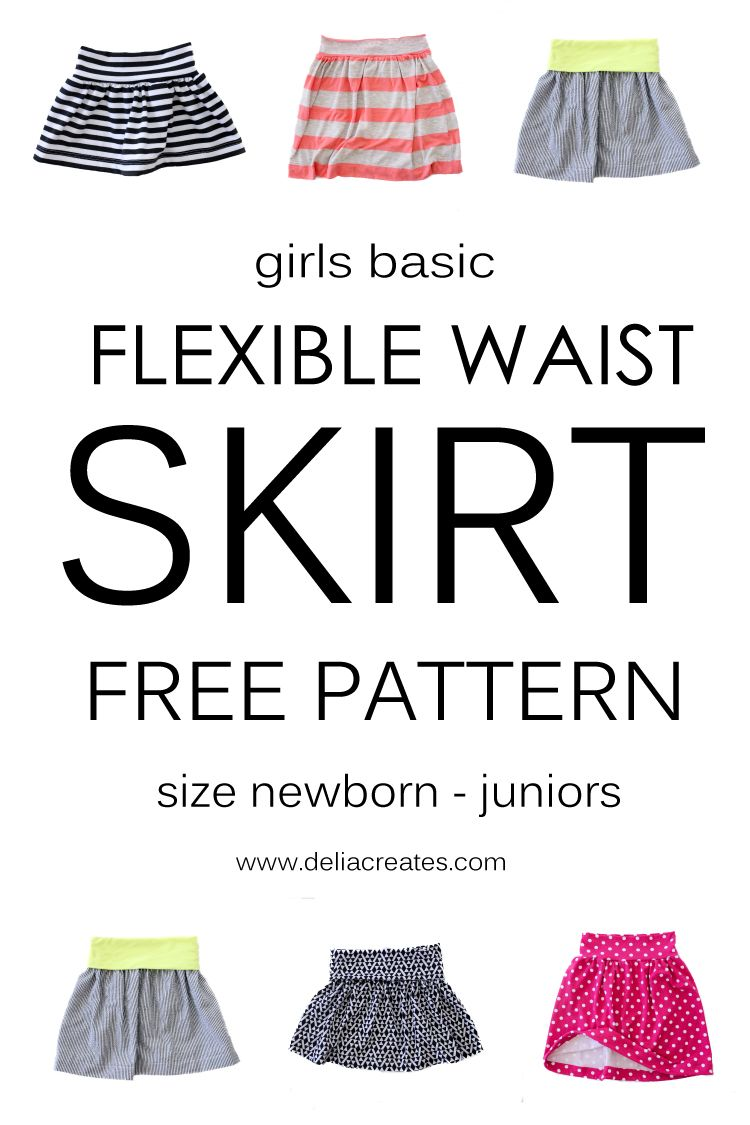 Free pattern from baby sizes all the way up through juniors for a free pattern from baby sizes all the way up through juniors for a cute gathered skirt bankloansurffo Images