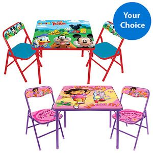 Character Corner Toddler Activity Table And Chairs Just
