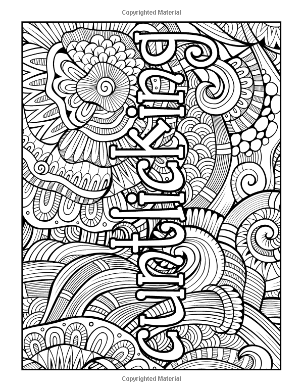 Amazon.com: Swear Word Stress Relieving Coloring Book: 37 Funny ...