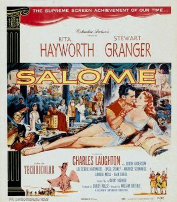 Salome.  Its on right now, afternoon matinee movie.  Rita Hayworth is stunning in this movie - and Charles Laughton is always worth watching.