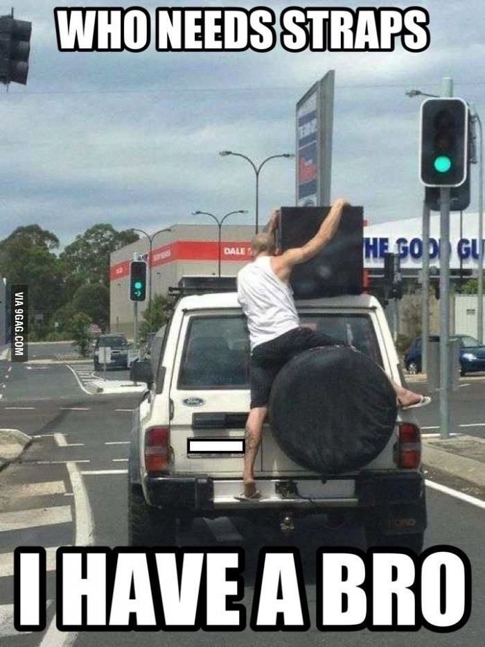 What bros are for!