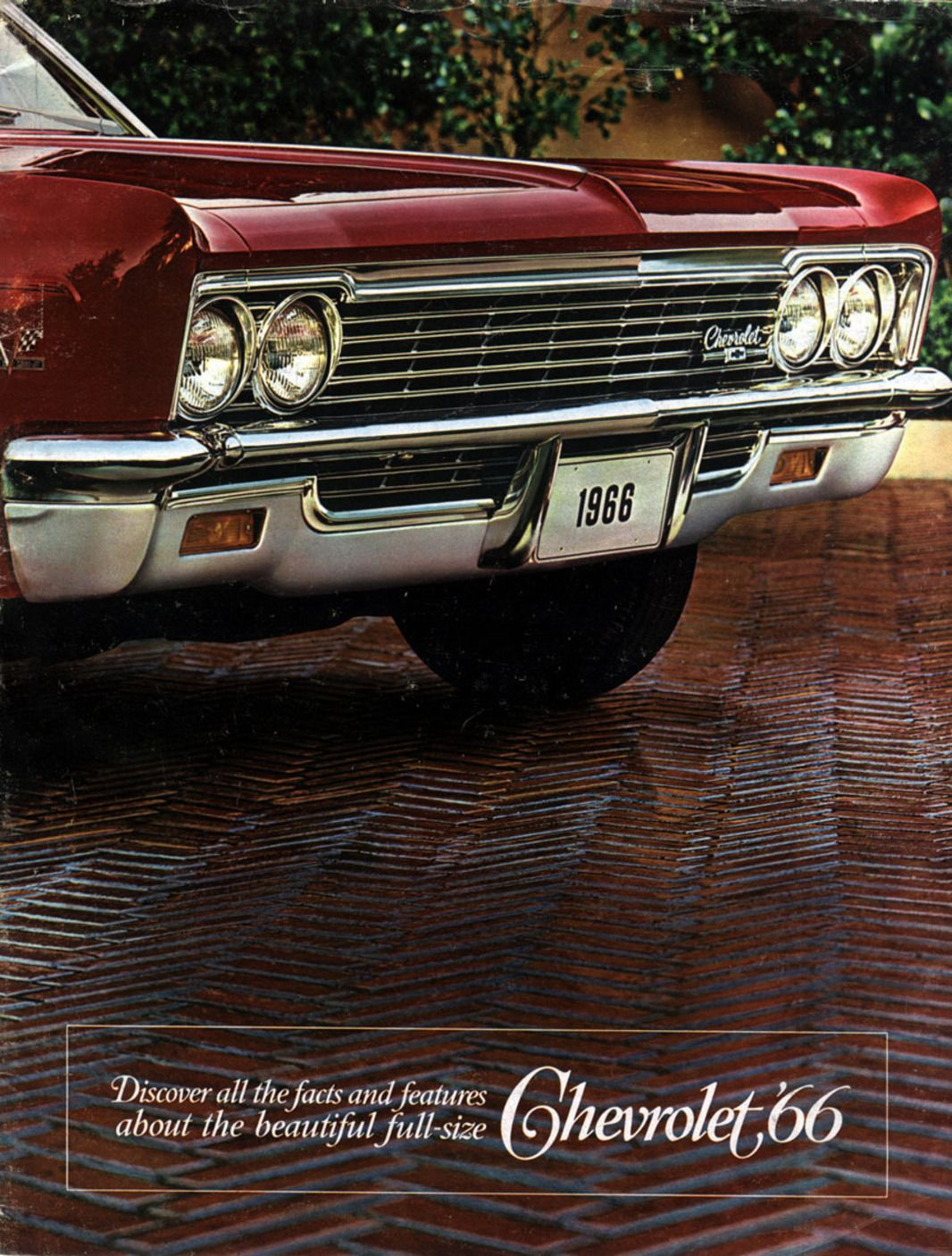 1966 Chevy Ad With Images Automobile Advertising Old Muscle