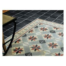 Carrelage Sol Noir 1930 20 X 20 Cm Castorama Decoration Carreaux De Ciment Carrelage Carrelage Noir