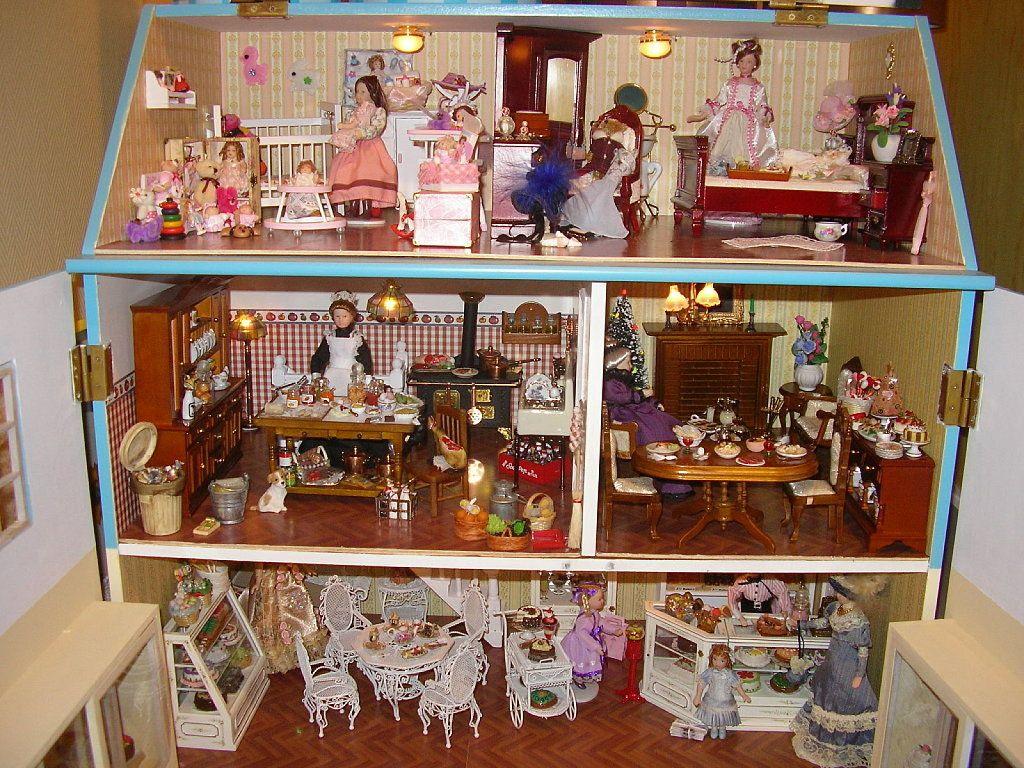 Casas miniaturas buscar con google casas miniaturas for Muebles casa de munecas