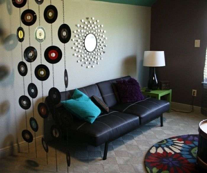 deko aus schallplatten schallplatten versch nern die wohnung diy ideen f r erwachsenen pinterest. Black Bedroom Furniture Sets. Home Design Ideas