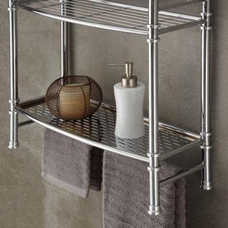Chrome Wall Mount or Countertop Shelf | Overstock.com