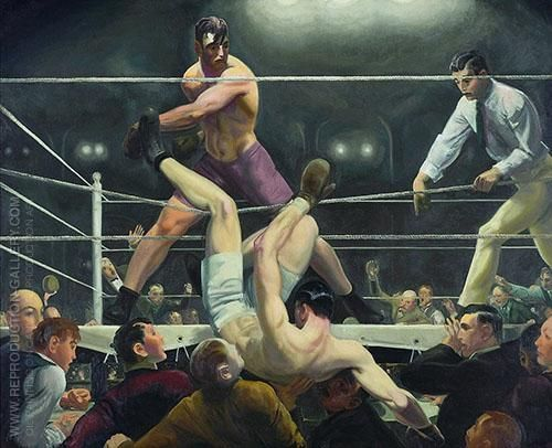 Dempsey and Firpo 1924 By George Bellows Replica Paintings on Canvas - Reproduction Gallery  #GeorgeBellows #GeorgeBellowsPaintings #SportPaintings #AshcanSchoolPaintings #AMERICANREALISM #ASHCANSCHOOL #wallart   #canvaspainting  #homedecorideas  #roomdecorideas  #housedecoration  #wallartdécor  #largewallart  #livingroomwalldécor  #paintingsforsale  #officedecorideas  #livingroomdecorideas  #bedroomdecorideas  #walldécor #ArtLovers #FamousArtist #ReplicaPaintings #ReproductionGallery