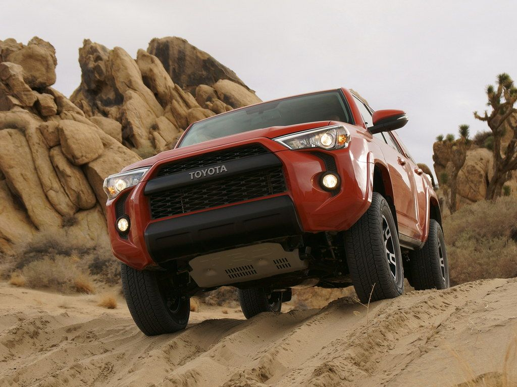 Toyota TRD Pro Series Officially Unveiled » Motorward