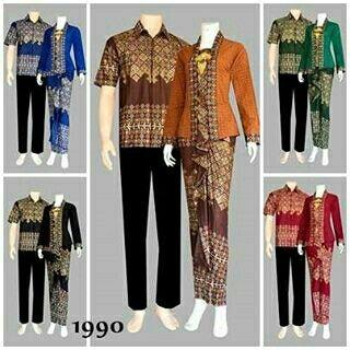 Batik Couple Harga Rp. 250.000 Bahan batik prada (Rok+Kemeja) eaafbdab4d
