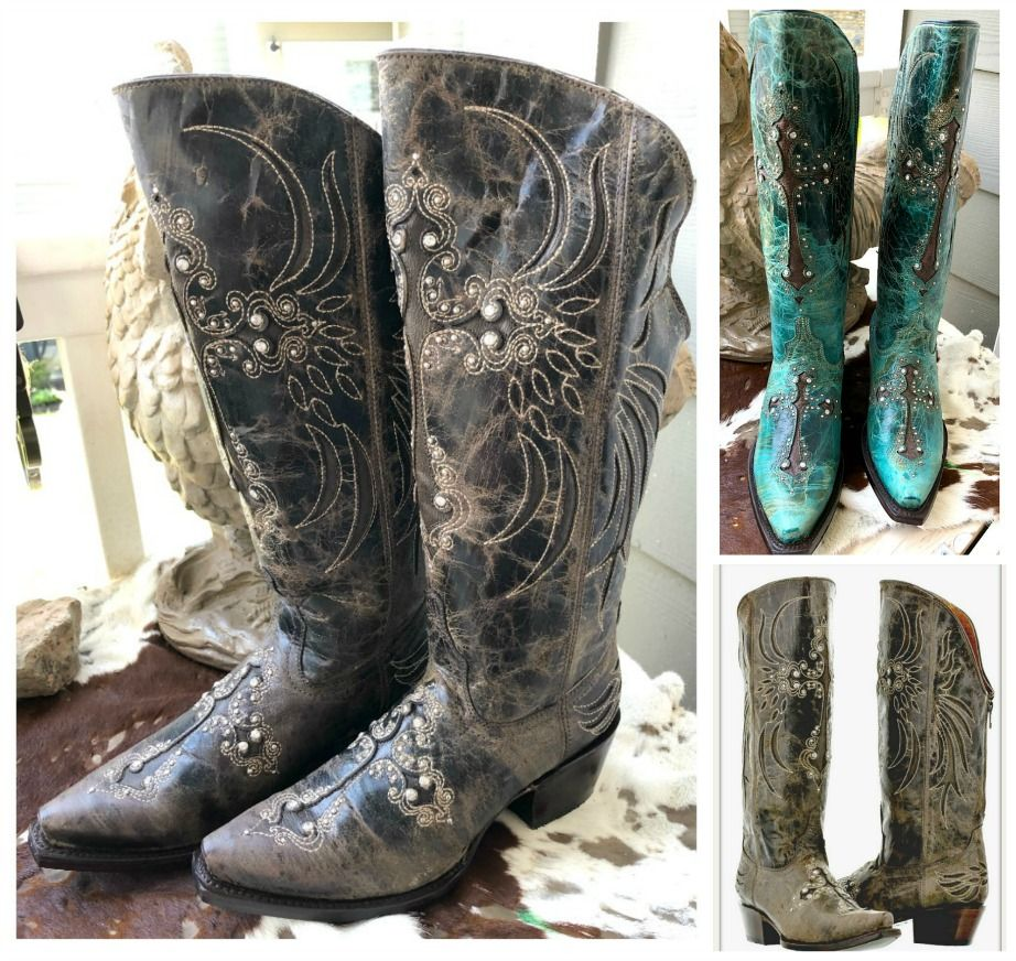 COWGIRL BOOTS \u0026 BOOTIES \u0026 RIDING BOOTS