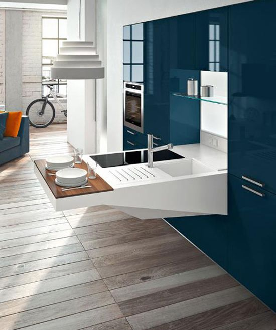 Compact Kitchen Design Ideas : Learn more how to design this awesome ...