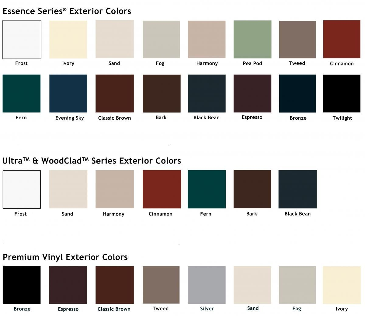 Window and Door Frame Materials - Window & Door Components | Milgard ...