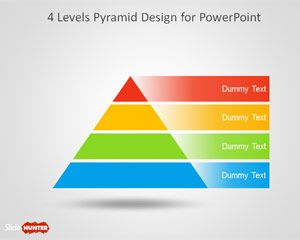 Free  Level Segmented Pyramid Template For Powerpoint Is A Free