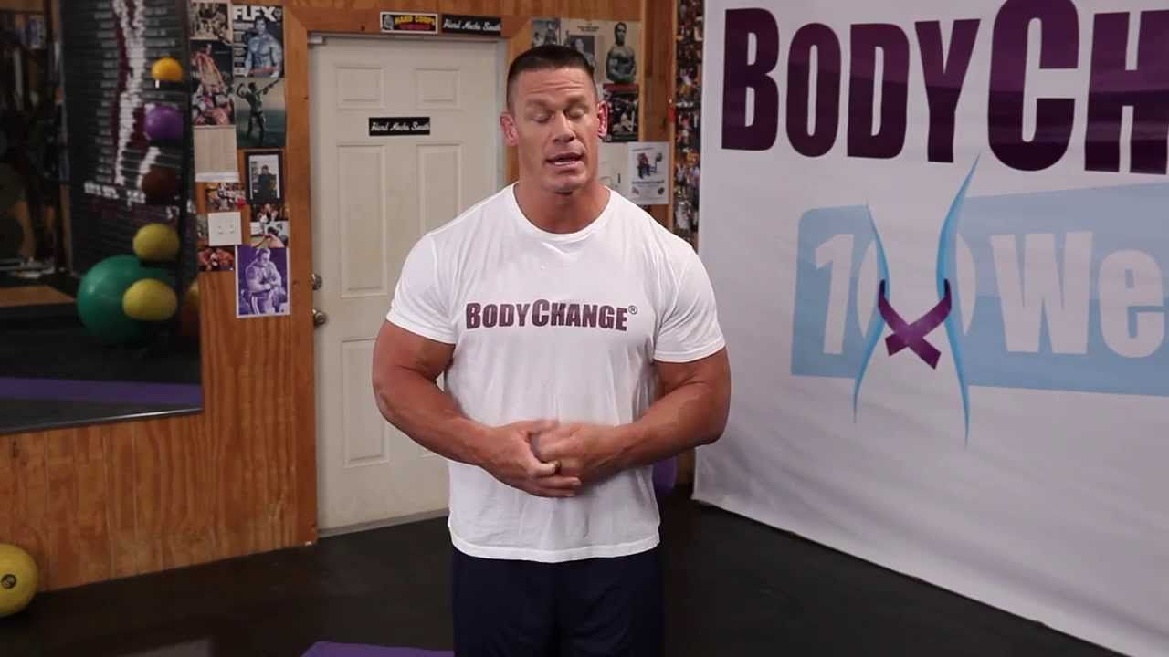 The BodyChange® Workout - 10 Weeks BodyChange® by John Cena