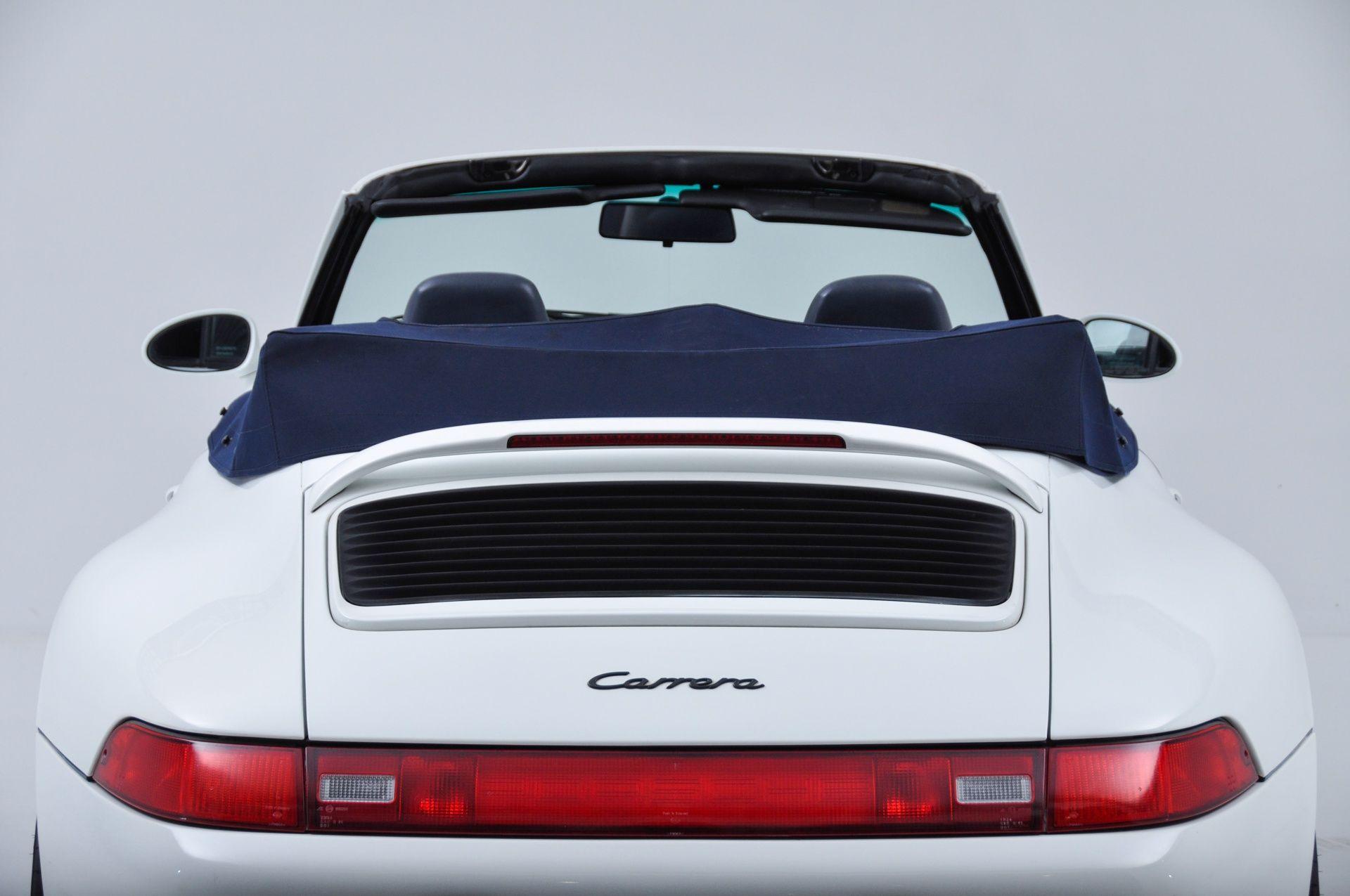 Used 1995 Porsche 993 Carrera 2 Cabriolet Carrera New