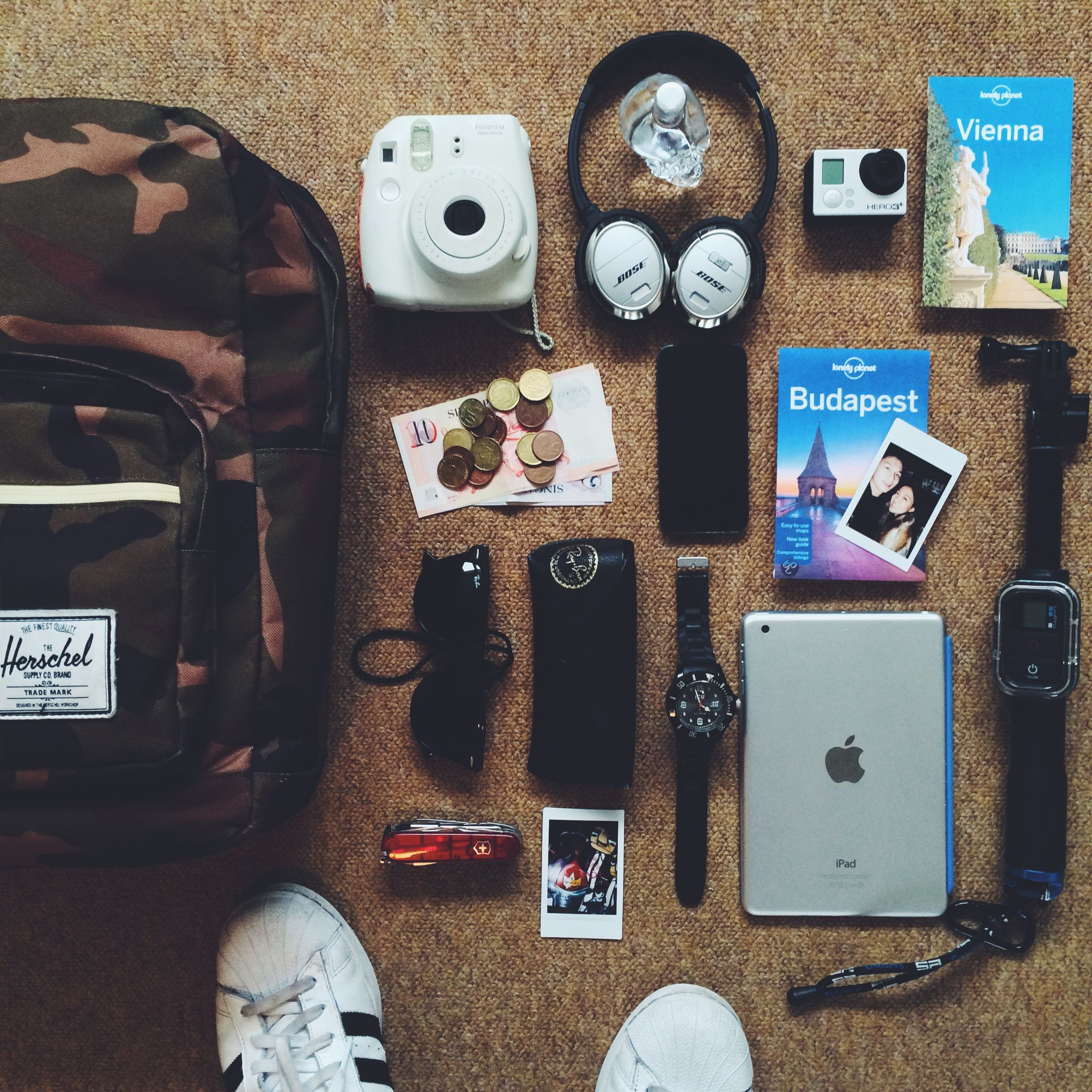 Herschel Supply Well Packed For A European Escape