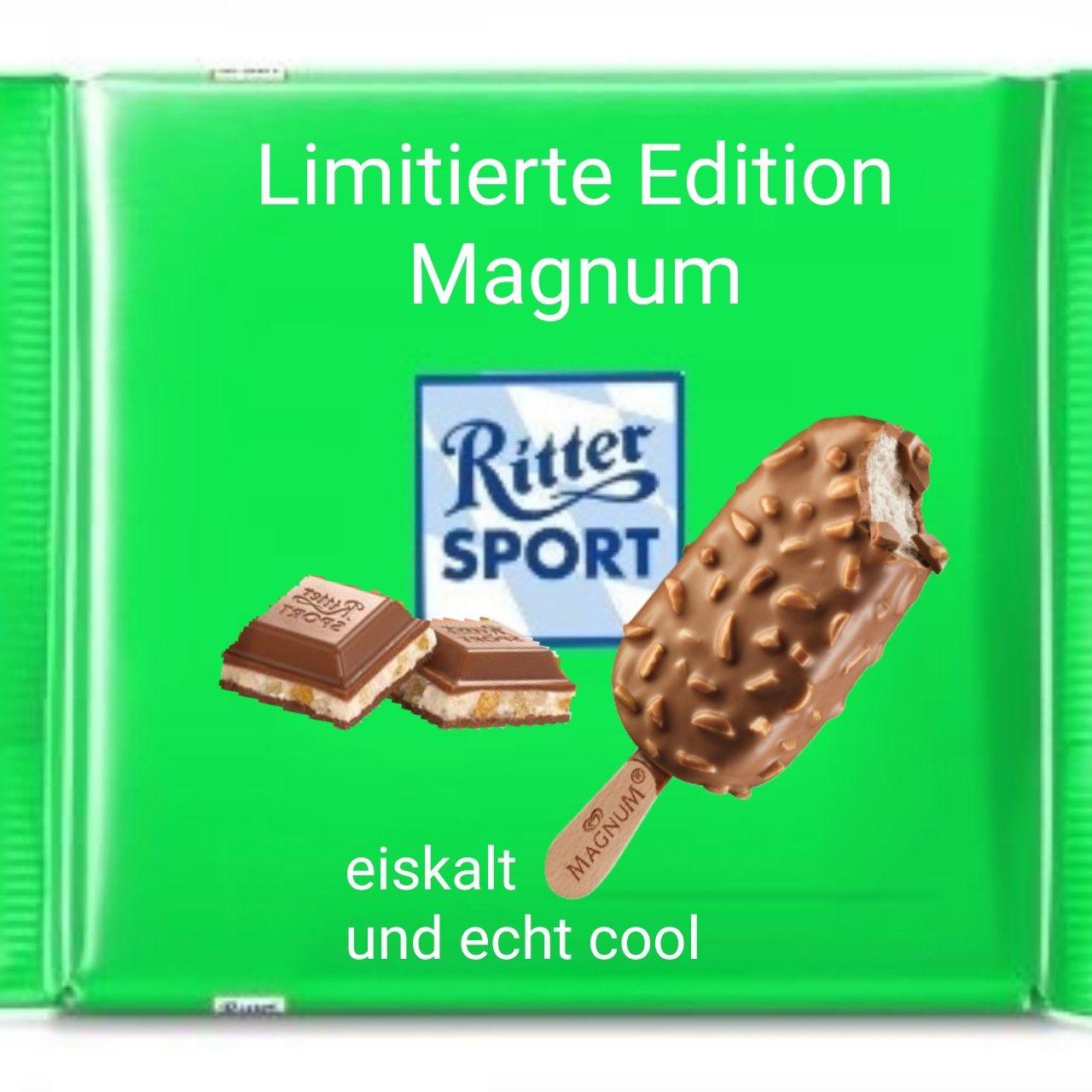 Ritter Sport lustig witzig Sprüche Bild Bilder. Magnum