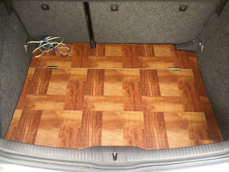 Diy Vinyl Hardwood Floor Trunk Hatch Vw Forum