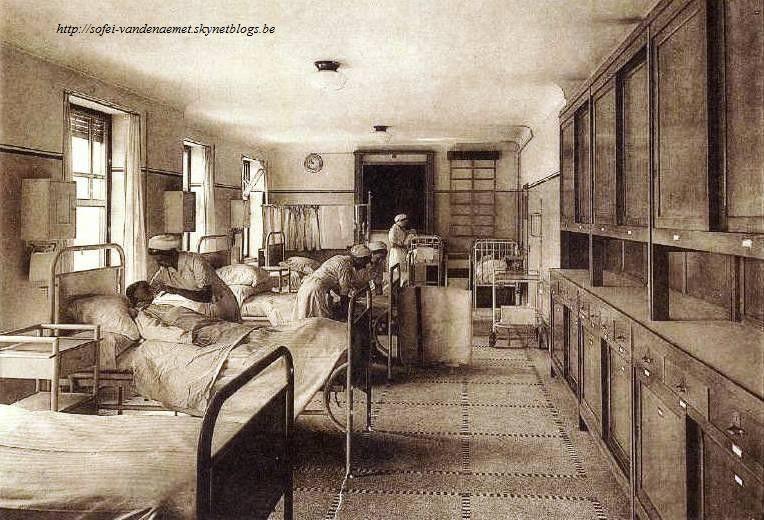 hôpital st pierre lits