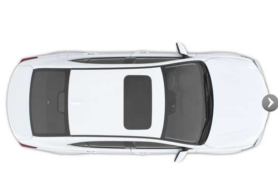 2015 Acura Tlx White Sedan Exterior Roof Aerial View Acura Tlx