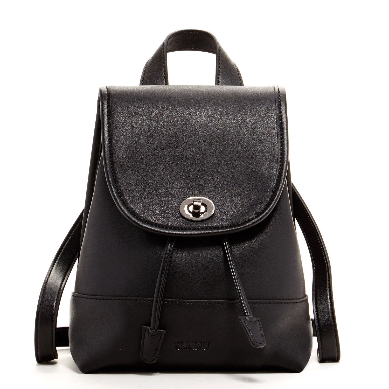 Nicole - Small Modern Leather Backpack | Products | Pinterest ...