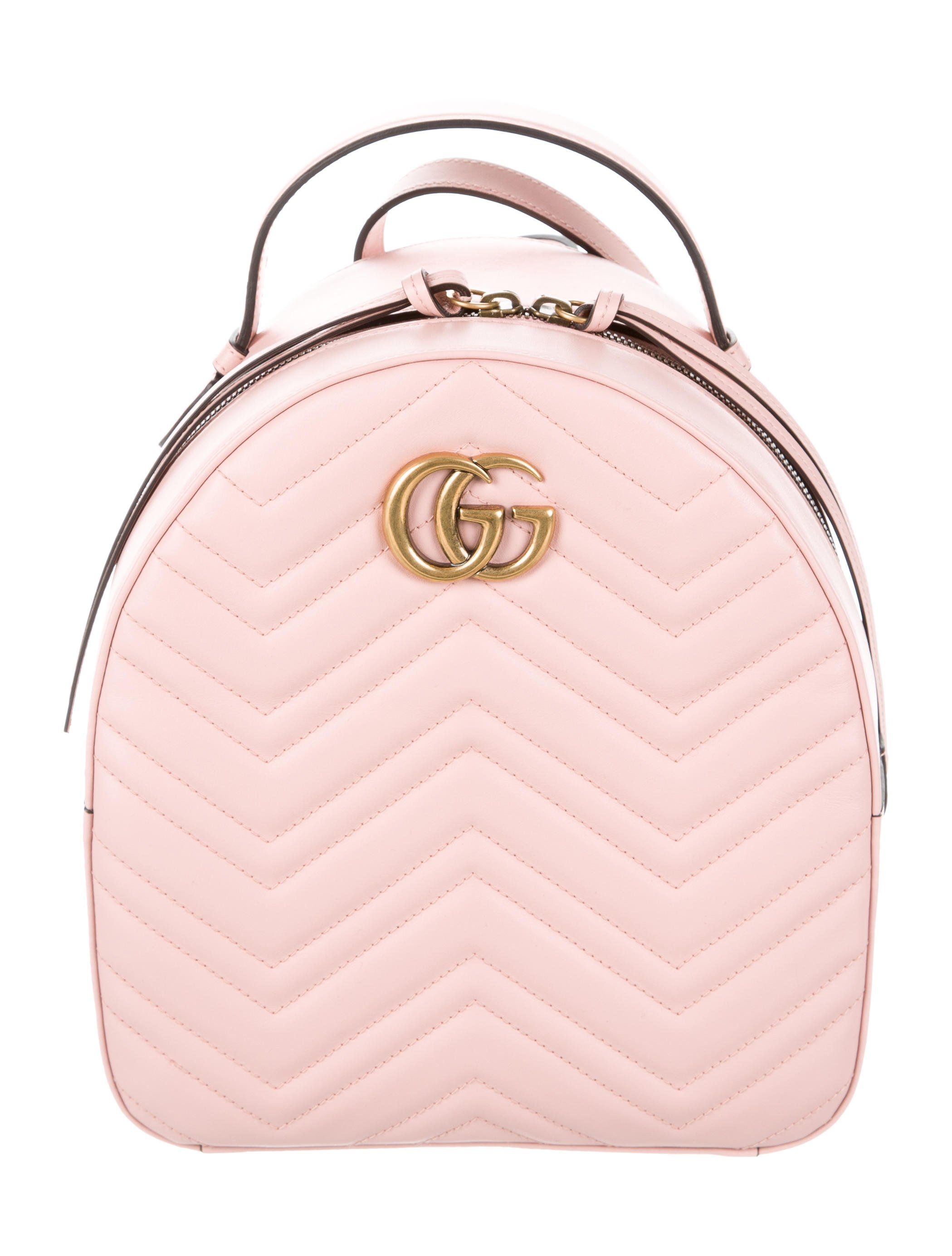 b58c6e1c550 GG Marmont Matelassé Leather Backpack in 2019