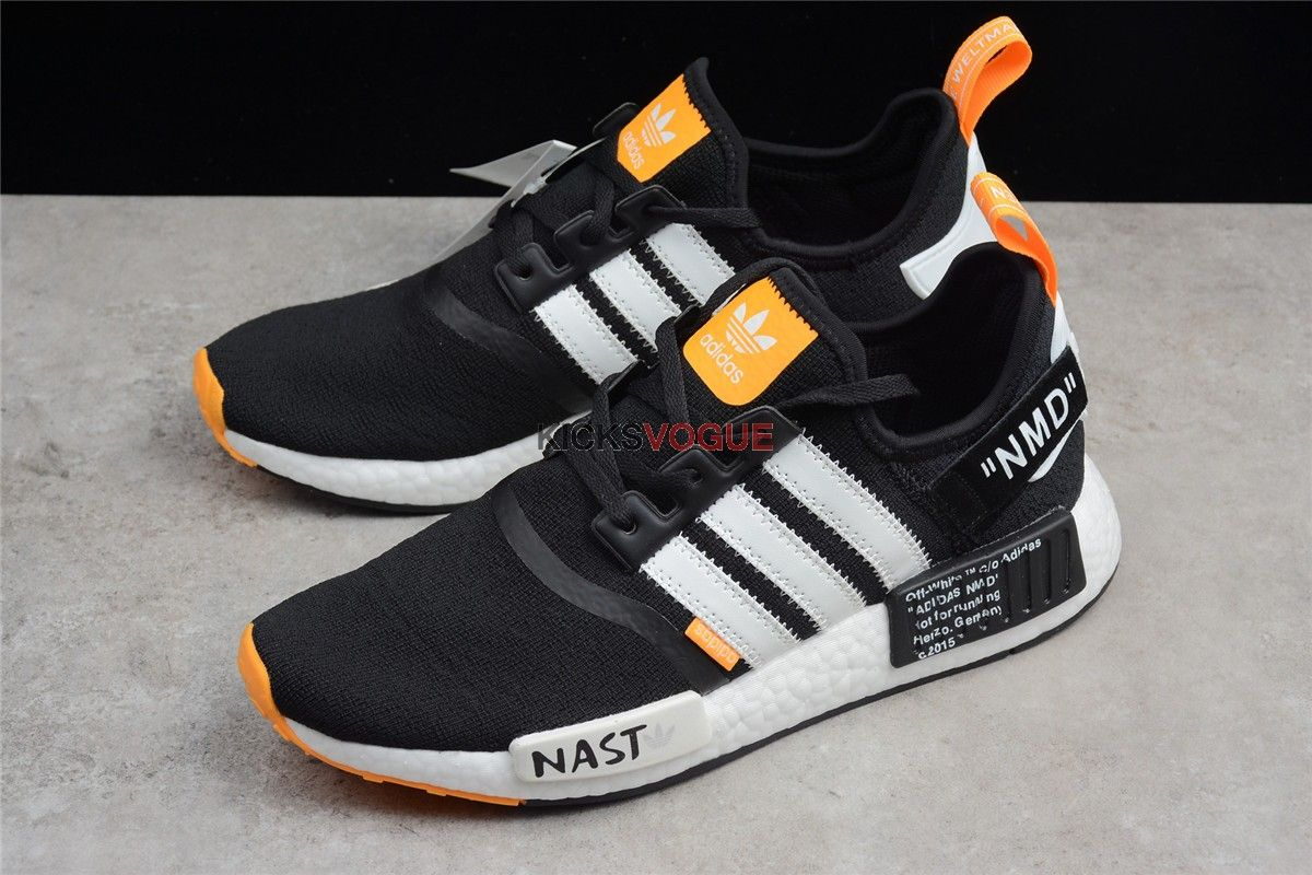 Men's atmos x adidas Originals NMD R1 BlackWhite G27331