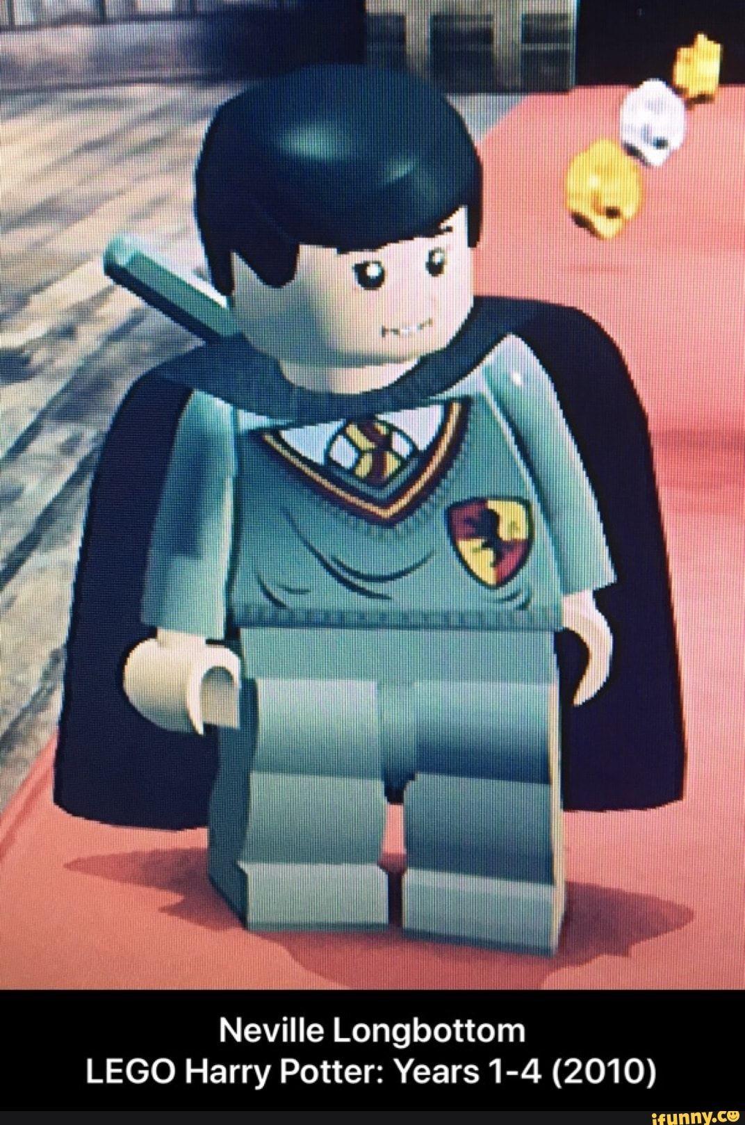 Neville Longbottom Lego Harry Potter Years 1 4 2010 Ifunny Neville Longbottom Lego Harry Potter Memes Hilarious Lego Harry Potter