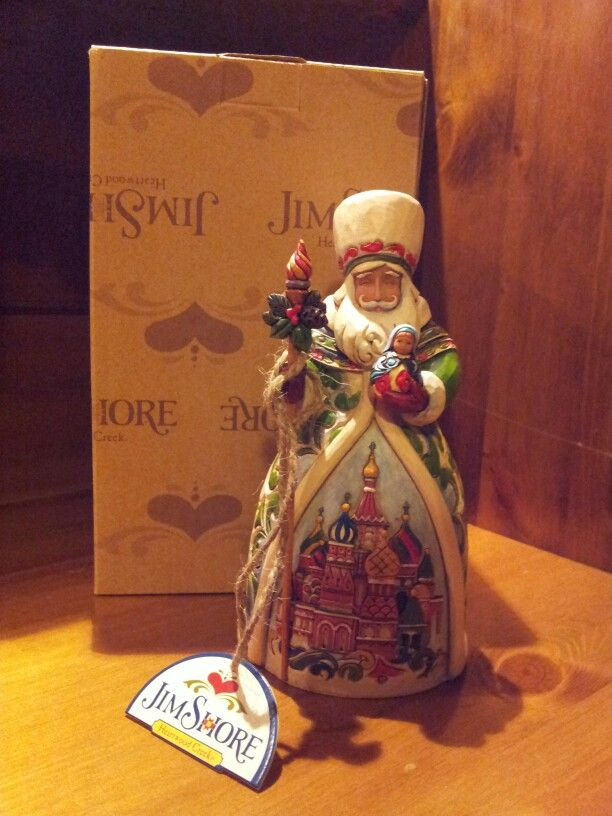 Santa's with Matrioska...