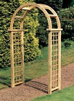 Awesome Wooden Garden Arches