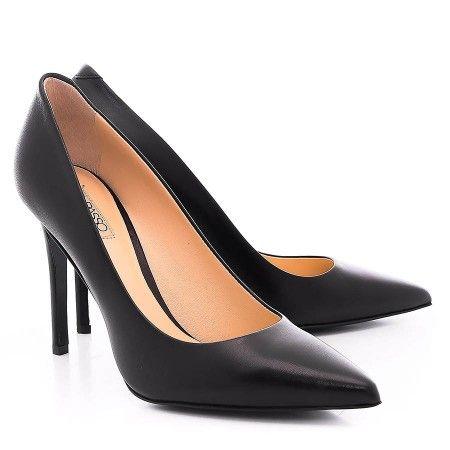 Pantofi Dama Stiletto Confectionati Din Piele De Vitel Lacuita
