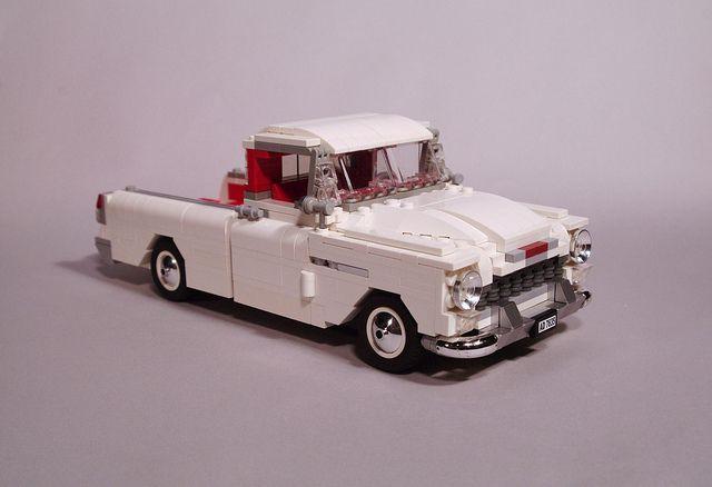 Chevrolet Cameo 1955 Lego Cars Lego Lego Truck