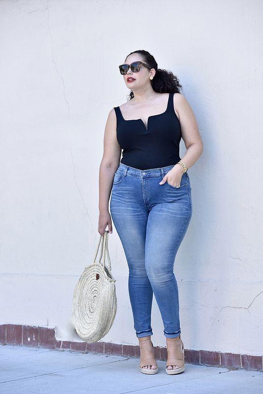 Best women's jeans for curvy figures